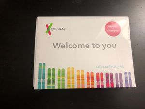 23&Me kit Health + Ancestry for Sale in Washington, DC