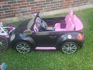 Beetle kids car for Sale in Fresno, TX