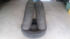 Toyhauler/travel trailer tires. for Sale in Visalia, CA