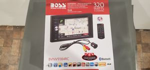 Boss Audio Systems BVNV9384RC Car Stereo with Rear Camera for Sale in El Monte, CA