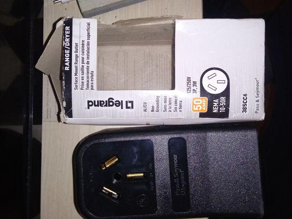 Range/dryer plug