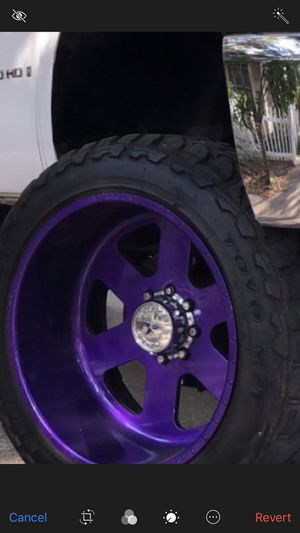 """24x14 wheels 8x6.5 37"""" tires $2500 for Sale in Winter Haven, FL"""