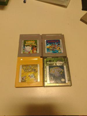 4 Nintendo Gameboy games for Sale in Austin, TX
