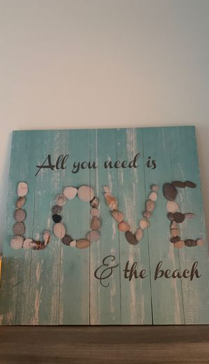 All you need is love and the beach picture for Sale in Delray Beach, FL