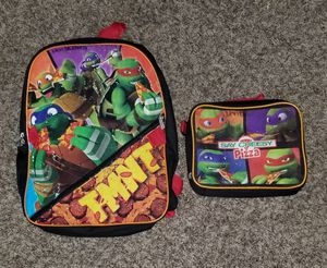 2 sets of kids bookbags and lunchboxes. One is Paw Patrol and one is Tennage Mutan Ninja Turtle. Also kids clothes available 3,4,5 6 and 7 T for Sale in Virginia Beach, VA