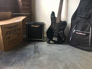 Bass Guitar Bundle for Sale in St. Louis, MO
