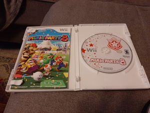 Mario Party 8 (Wii) - Complete in box Manual included. for Sale in Lake Worth, FL
