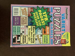 Variety puzzles and games 178 pages for Sale in Miami, FL