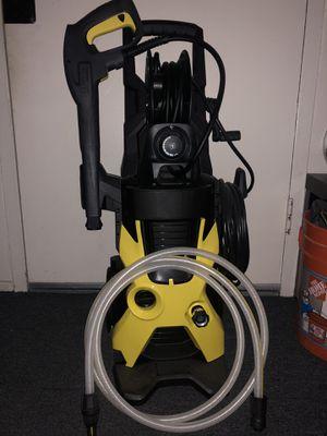 Karcher K5 Premium Electric Power Pressure Washer, 2000 PSI, 1.4 GPM + accessories for Sale in San Diego, CA