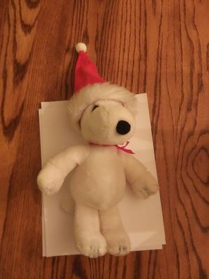 Vintage Christmas Snoopy Plush - Dated 1968 - $10.00 for Sale in St. Louis, MO