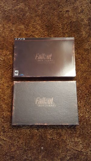 Fallout new Vegas collectors edition ps3 NO GAME for Sale in Elsmere, DE