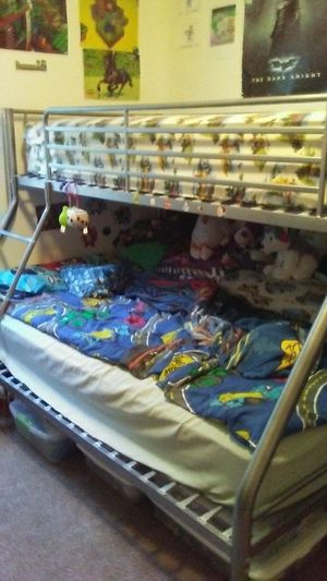 Bunk bed with twin mattress for Sale in South Bend, IN