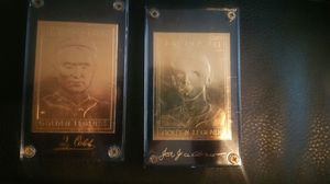 Gold baseball cards for Sale in Parma, OH