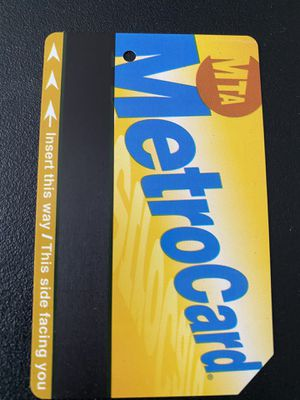 90$ - 1x30 day Unlimited NYC MetroCard (Expiration 03/31/2022) MRT actual price = 127$ for Sale in Queens, NY