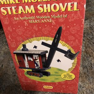 Mike Mulligan Steam Shovel Made Of Wood for Sale in Plymouth, MA