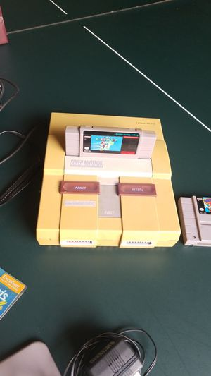 Super nintendo for Sale in Howell, NJ