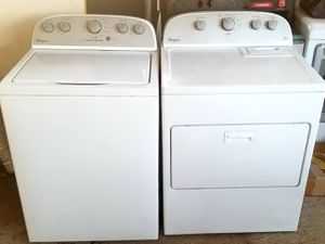 WhirlPool Stainless washer dryer set $385 for Sale in Harlingen, TX