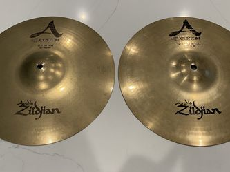 Zildjian A Custom Hihat Cymbals for Sale in Los Angeles,  CA