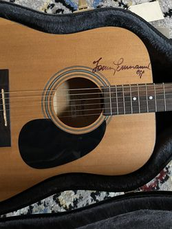 Tommy Emmanuel Signed Acoustic Guitar for Sale in Bailey's Crossroads,  VA