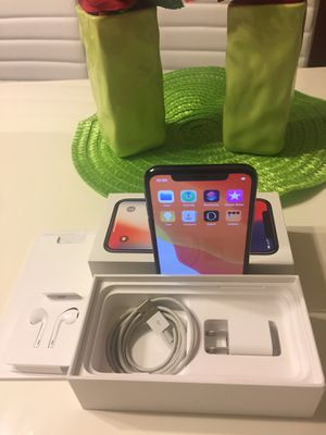 Factory unlocked iPhone X 64 GB for Sale in University Place, WA