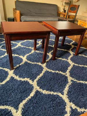 2 end tables for Sale in Orting, WA
