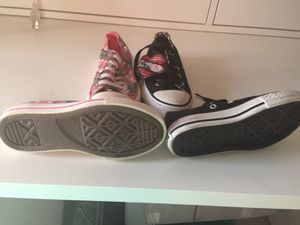 c8d7d15b4d3 Girls converse size 12 and 11 for Sale in San Jose