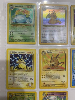 Base set, base set 2 E reader and neo discovery pokemon cards for Sale in Pembroke Pines, FL