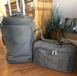 2 Pieces of Atlantic Luggage-Rolling Duffle Bag and Shoulder Bag for Sale in Jackson Township, NJ