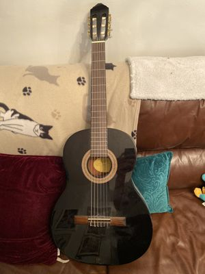 Black acoustic guitar for Sale in Miami, FL