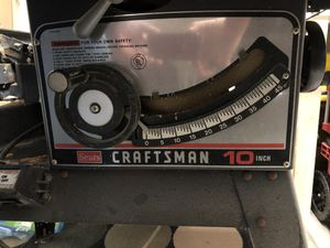 Craftsman table saw combo for Sale in Glen Burnie, MD