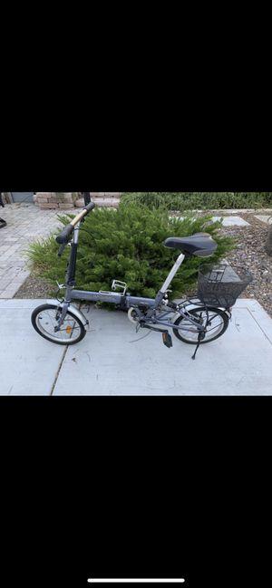 SUNSHINE -sunshine grey fold up bike for Sale in Henderson, NV