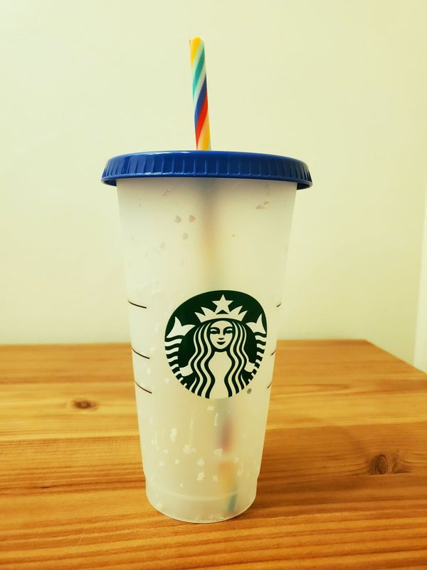 Starbucks Color Changing Confetti Cup