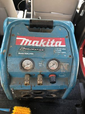 Makita air compressor for Sale in Elmont, NY