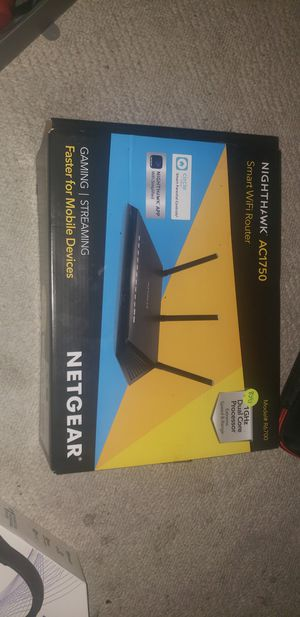 Nighthawk ac1750 smart wifi router for Sale in Indianapolis, IN