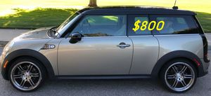 Price$8OO For Sale Urgent!2009 MINI Cooper Clubman S,Clean title,Works and drives excellently for Sale in Madison, WI