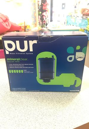 Pur mineral clear faucet refill for Sale in San Antonio, TX