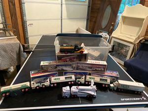 Huge collection of Hess Toy Trucks from 1980's and 1990's for Sale in Cumming, GA