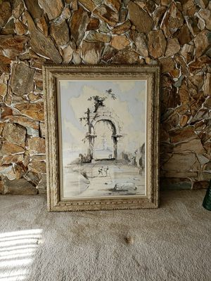 Picture frame of a print of Roderic Montagu 1958 for Sale in Boca Raton, FL