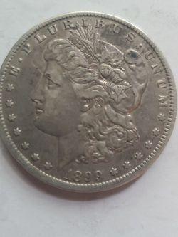 1899 O Morgan SILVER DOLLAR ERROR OFF CENTER for Sale in Chicora,  PA