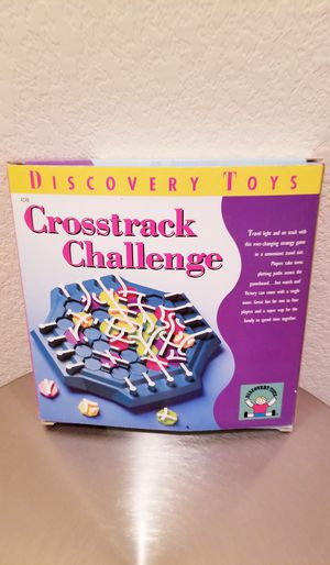 Crosstrack Challenge Game by Discovery Toys for Sale in Austin, TX