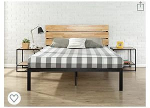Bed frame plus mattress for Sale in San Diego, CA