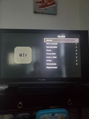 Panasonic TV + Apple TV for Sale in Cleveland, OH