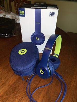 Beats solo wireless 3 Bluetooth headphones for Sale in Austin, TX