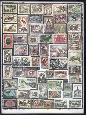 Poster of stamps for Sale in Clovis, CA