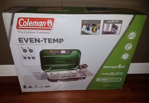 Brand New Coleman Even-Temp Camp Stove - Brand New and Ready for Camping! for Sale in Nashville, TN