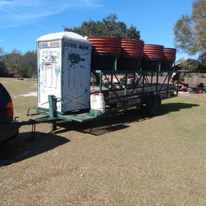 Trailer And Tubes And Ladders for Sale in Fort Meade, FL