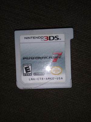 Nintendo 3DS Mario Kart 7 game for Sale in Lowell, MA