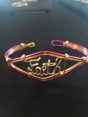 Custom Wire Nameplate Bracelet for Sale in Garfield Heights, OH