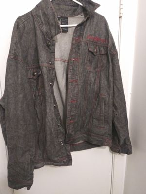Rocawear Denim Trucker Jean Jacket Xl for Sale in Columbus, GA