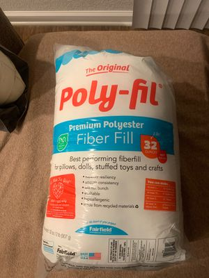 FREE Polyester fiber fill (stuffing) for Sale in Virginia Beach, VA